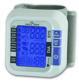 Easy@Home Digital Wrist Blood Pressure Monitor