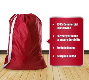 Laundry Bag With 2 Inch Shoulder Strap