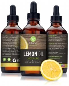 4 oz Bottle of Pure Lemon Essential Oil