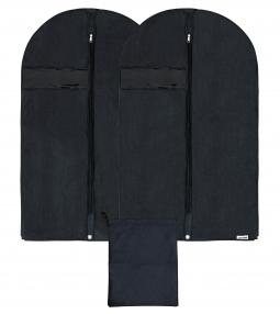 Garment Bag Covers And 1 Shoe Bag