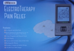 PM-180 Tens Unit Electronic Pulse Massager