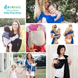 SUKKIRi Baby Ring Sling
