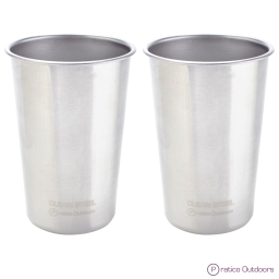 Stainless Steel Cups - 16 oz Pint Glasses