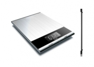 Ozeri Ultra Thin Stainless Kitchen Scale