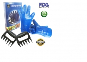 Hutensafe Silicone Gloves and Meat Claws
