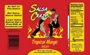 Tropical Mango Salsa by SalsaCrazy
