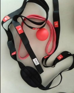 Stretching Strap, Resistance Band Loop, Myofascial Massage Ball Review and Giveaway