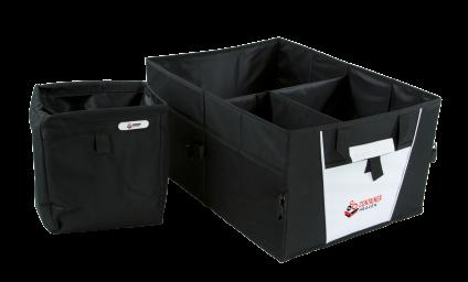 Car trunk organizer and car trashbag
