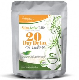 The SlimActive Life 20-Day Detox Tea